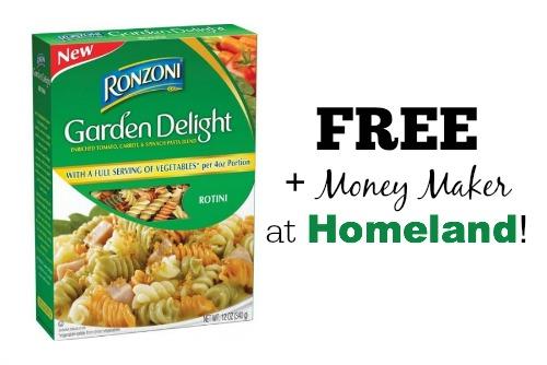 free ronzoni at homeland