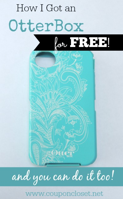 how to get an otterbox for free