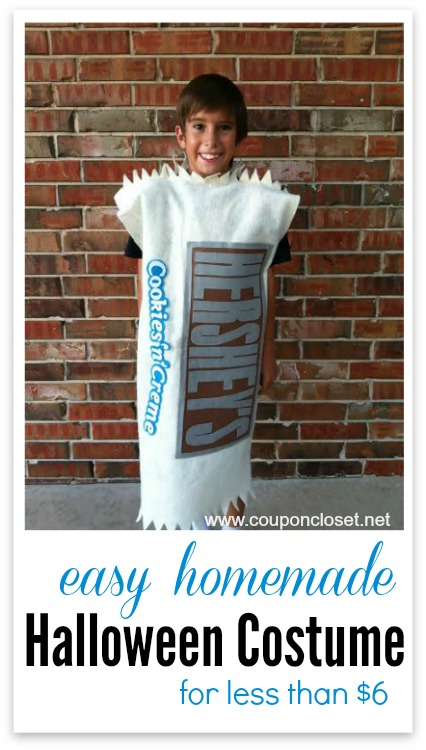 hersheys homemade costume