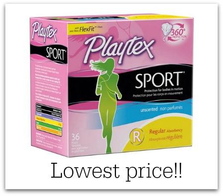 playtex tampons