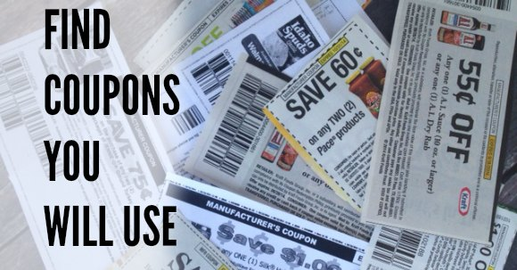 coupons you will use facebook image