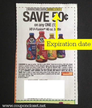 how to read coupons - expiration dates