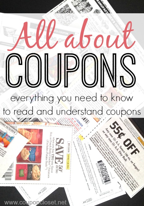 how to read coupons