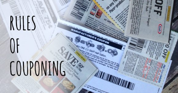 rules of couponing facebook image