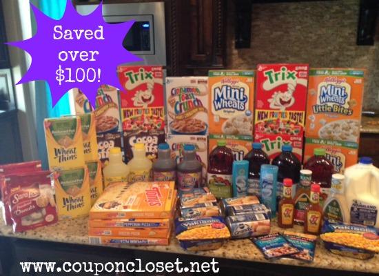shopping trip homeland over 100 dollars saved