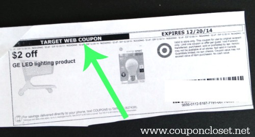 store coupon - how to read coupons