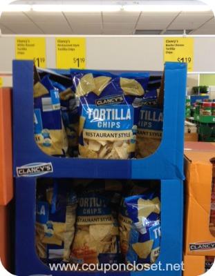 tortilla chips at aldi foods