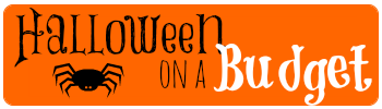 Halloween on a budget banner