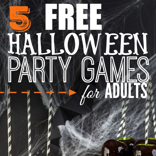 fun party games for adults halloween