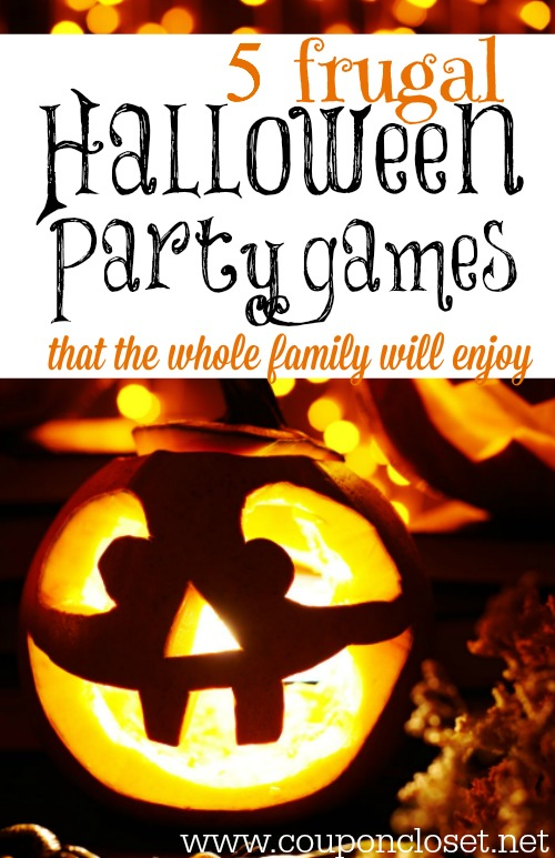 halloween party games for families don't have to be expensive. Make sure you check out our party game ideas that the whole family will love.