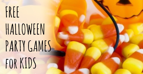 halloween party games for kids that are free