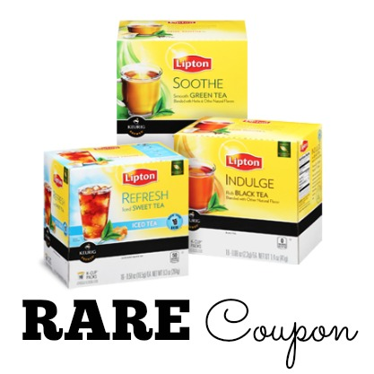 lipton tea k cups