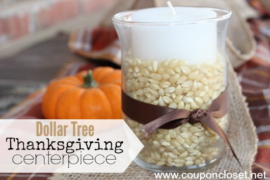 Dollar Store DIY Thanksgiving Decoration Idea amp Fall