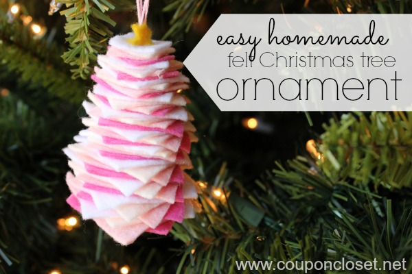 Homemade christmas ornaments over 30 custom christmas for Christmas tree decorations you can make at home