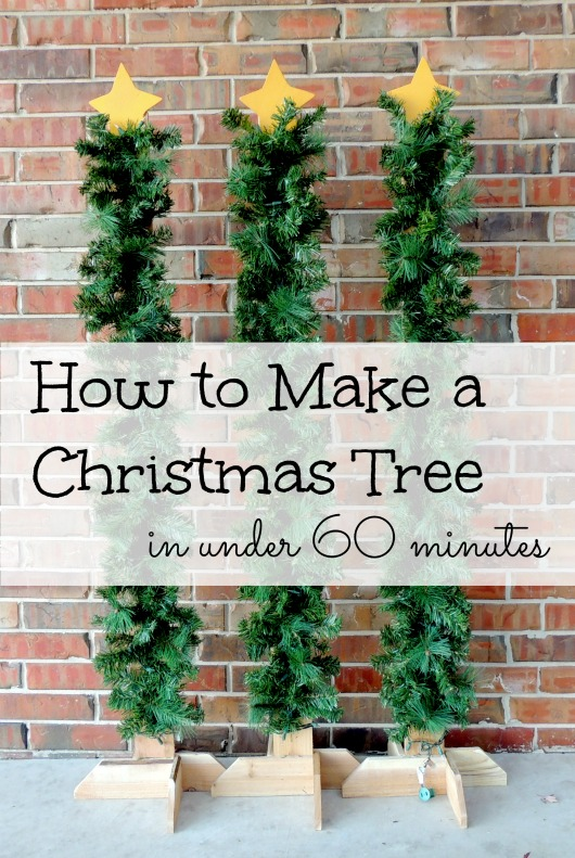 how to make christmas tree