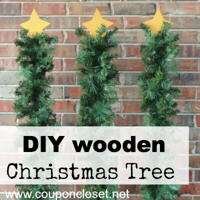 how to make wooden christmas tree