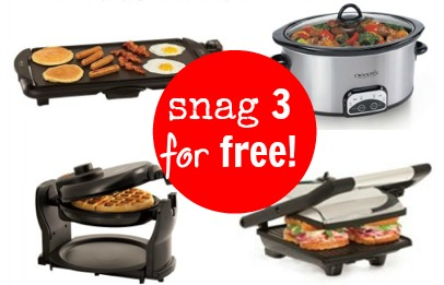 snag three for free