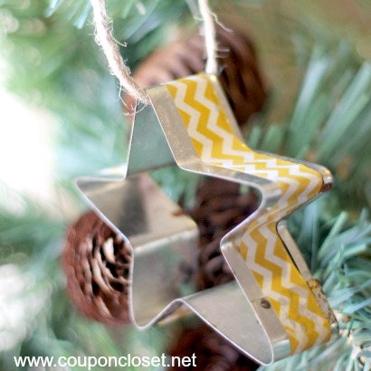 star cookie cutter ornament