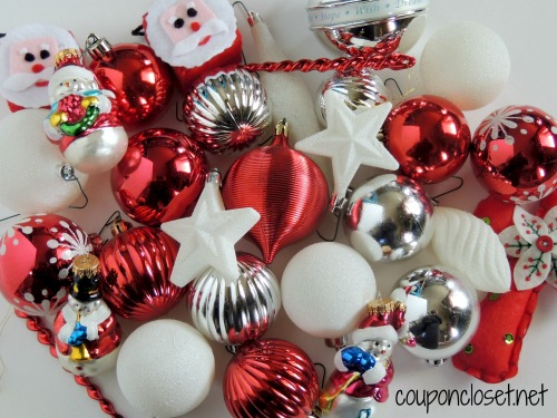 How to Decorate a Christmas Tree - use nice and cheaper ornaments