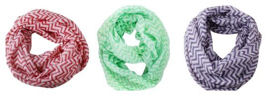 chevron scarves group