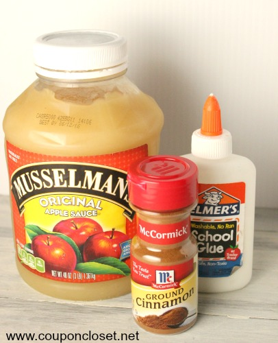 cinnamon apple sauce ornaments ingredients