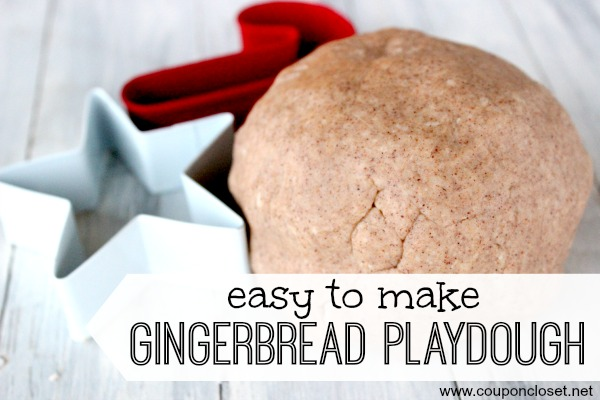 gingerbread playdough recipe