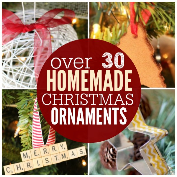 Here Are 30 Custom Christmas Ornaments That You Can Make At Home These Easy Homemade