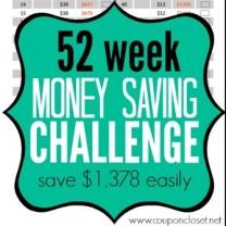 money saving challenge square