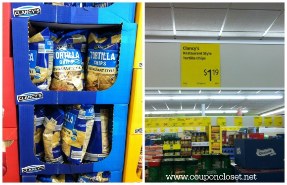 aldi grocery store- chips