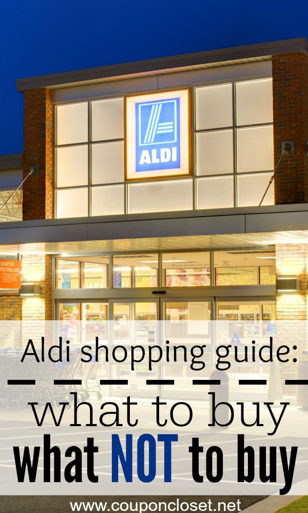 aldi grocery store shopping guide