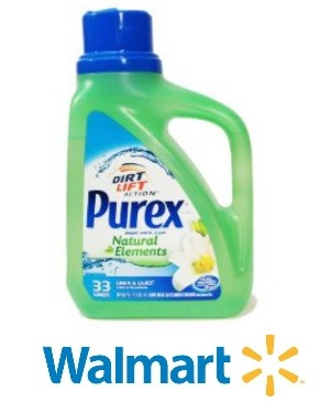 walmart purex detergent