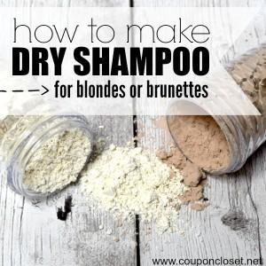 diy dry shampoo square