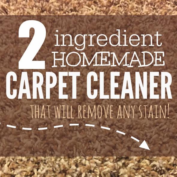 homemade carpet cleaner square