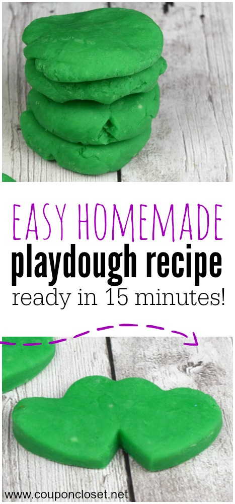 homemade playdough recipe