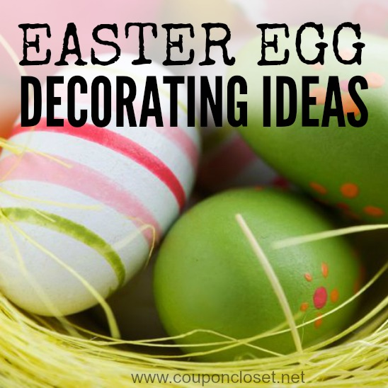 easter egg decorating ideas