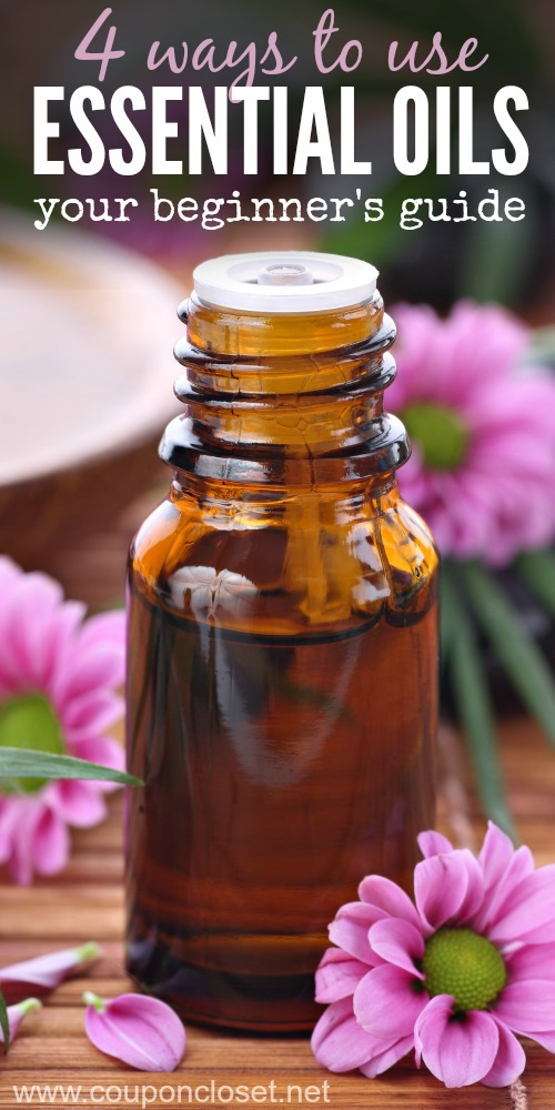 4 ways to use essential oils
