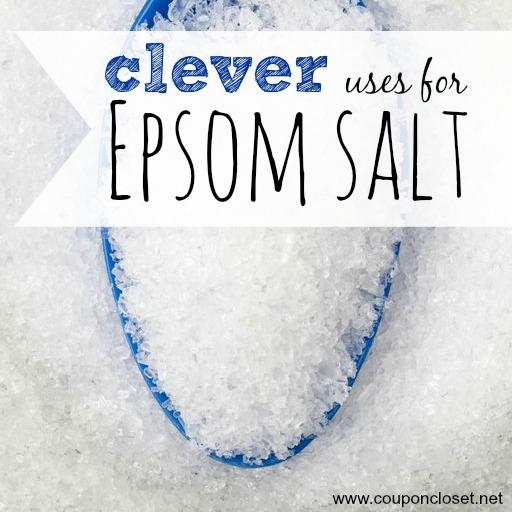 clever uses for epsom salt