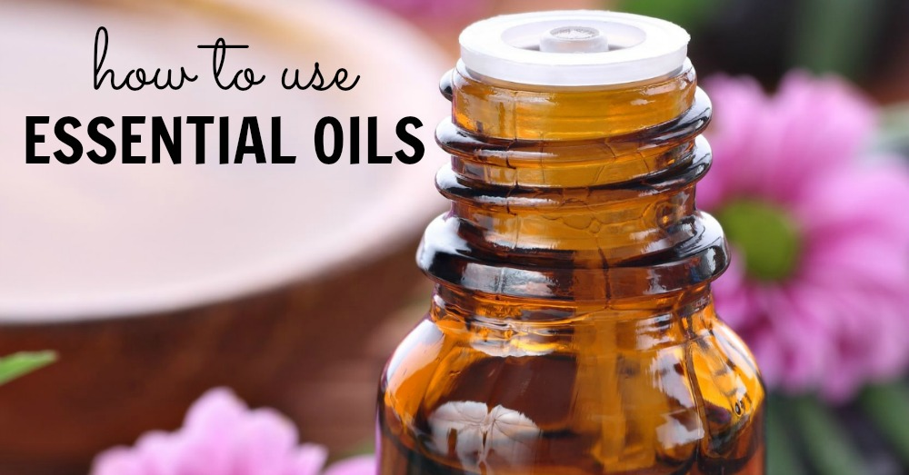 how to use essential oils - facebook image