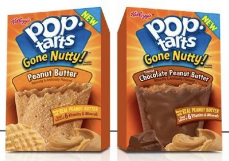 pop tarts gone nutty