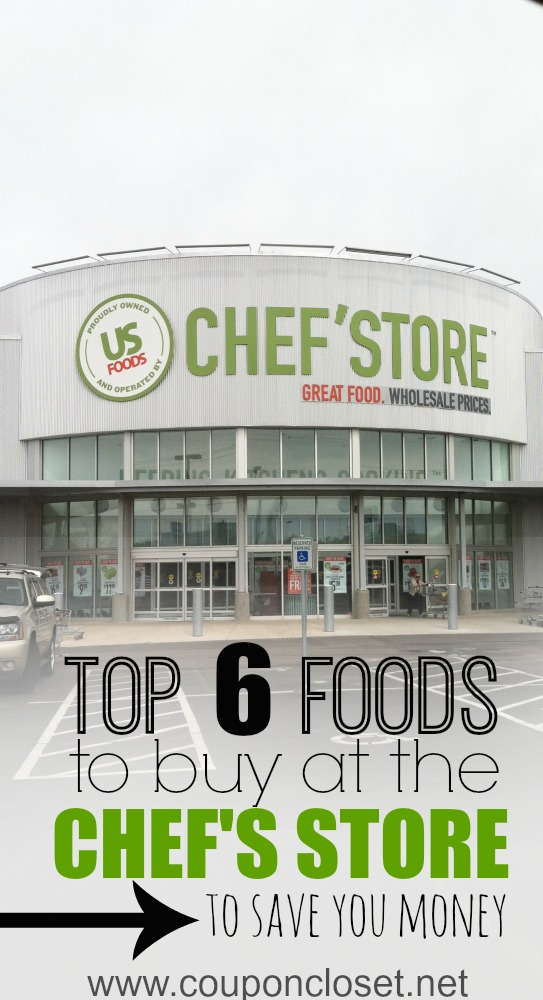 what to buy at chefs store