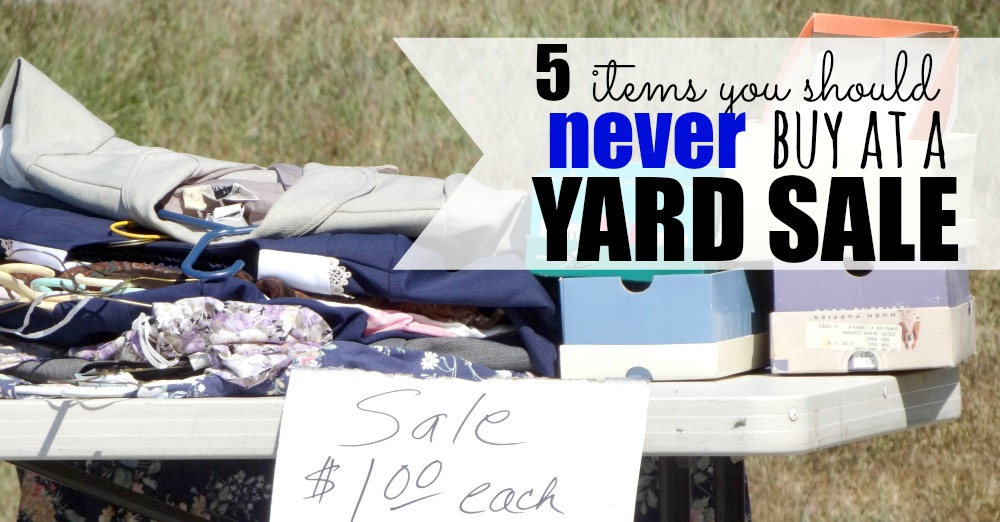 yard sale facebook image