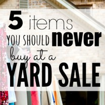 yard sale square