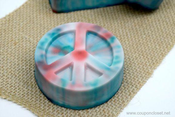 DIY Tie Dye Soap