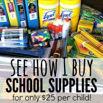 buy school supplies - square