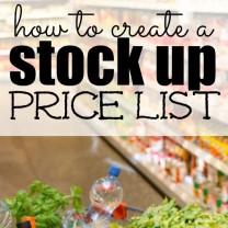 stock up price list square
