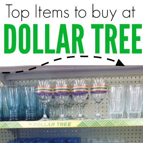 Find out what to buy at the Dollar Tree store to save you money. Find the tops items here to buy that will save you cash!