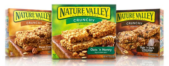 nture valley granola bars