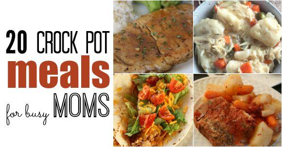 crock pot meals for busy moms facebook