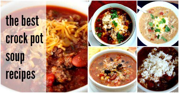crock pot soup recipes - facebook