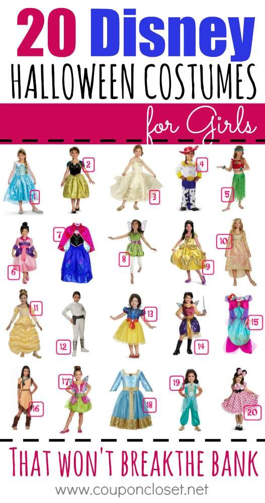 disney costumes for girls
